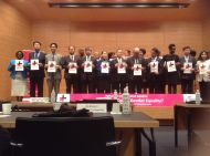 Dr. Nyamu with other participants and trainers at Nagoya University-Japan