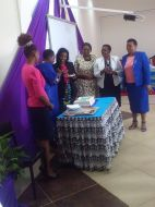 International Womens DAyVC Olive Mugenda Hosting Muranga Women rep Hon. Sabina
